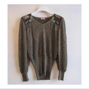 All the Glitters Top